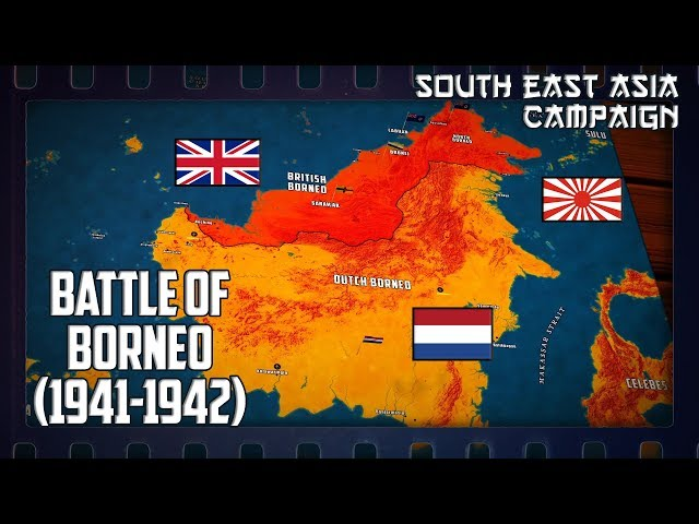WW2 in South-East Asia   Battle of Borneo (1941-1942)