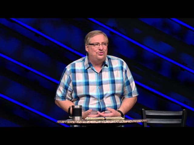 Learn About What Matters Most In Life with Rick Warren
