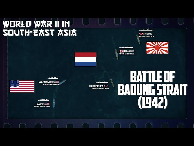 WW2 in South-East Asia   Surprised at Bali and Battle of Badung Strait (1942)