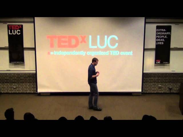 Cold Shower Therapy: Joel Runyon at TEDxLUC