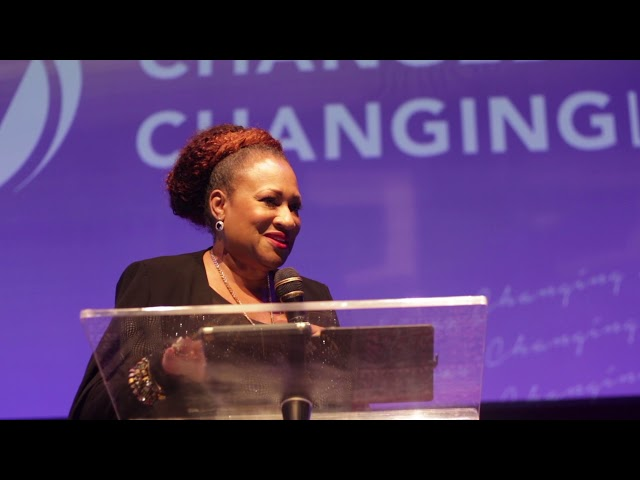 """""""The Process of Victory"""" Michelle McKinney Hammond at View Church For View Girls Conference"""