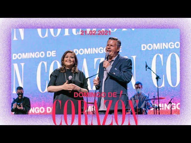 Domingo de Corazón - Ps. Marcos Richards y Un Corazón - #EnCasaParaTodos