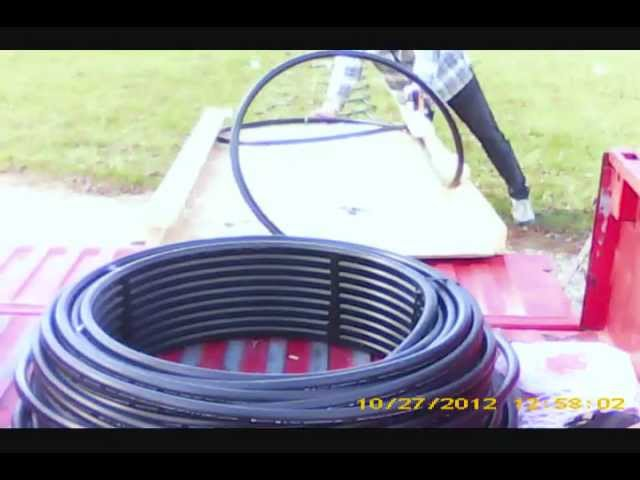 how to make geothermal slinkies and how to get an extra 100 feet of heat exchange