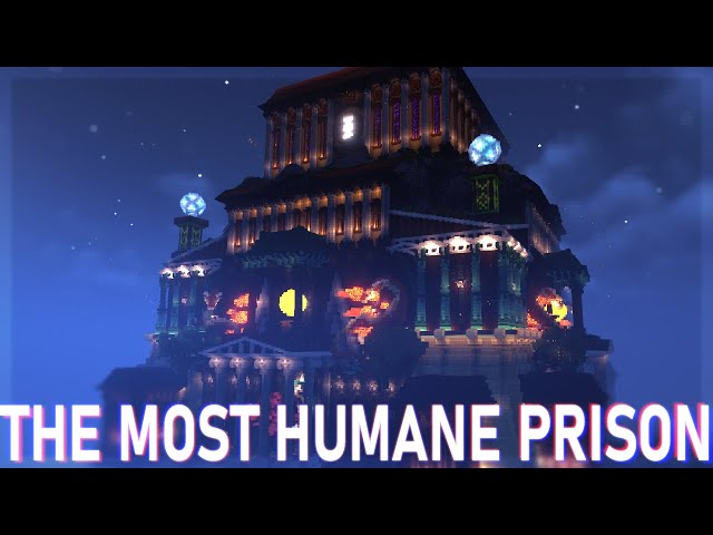 Minecraft's most Humane Prison: ELEOS CITADEL [By Kenadian and Corealis]