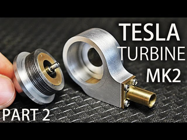 Micro Tesla Turbine MK2   Part2   Housing, End Caps, Nozzle
