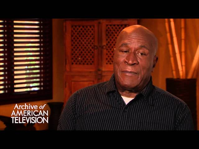 John Amos discusses why he stopped doing Good Times - EMMYTVLEGENDS.ORG