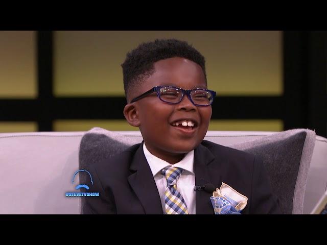 An 8-Year-Old Walking Dictionary || STEVE HARVEY