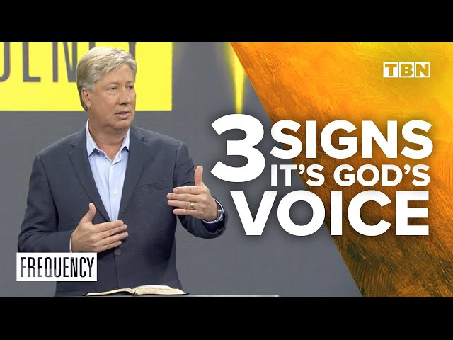 Robert Morris: Is it God's Voice or Your Thoughts?   TBN