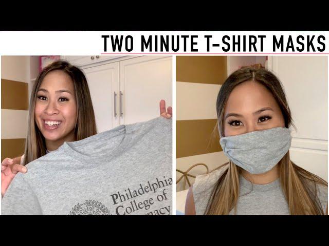 2 MINUTE T-SHIRT MASK