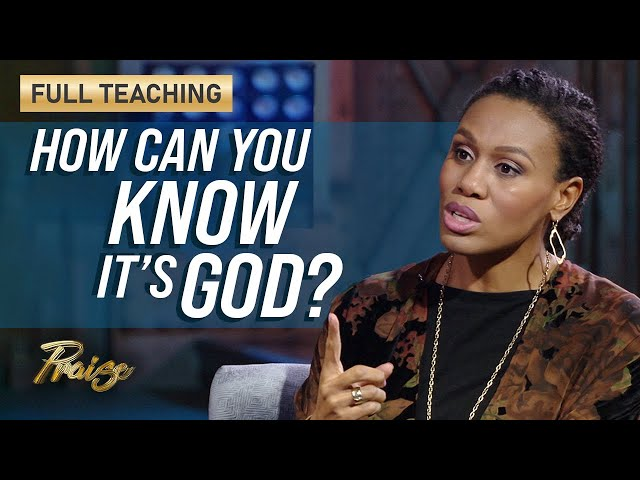 Priscilla Shirer: How to Discern the Voice of God (Full Teaching) | Praise on TBN