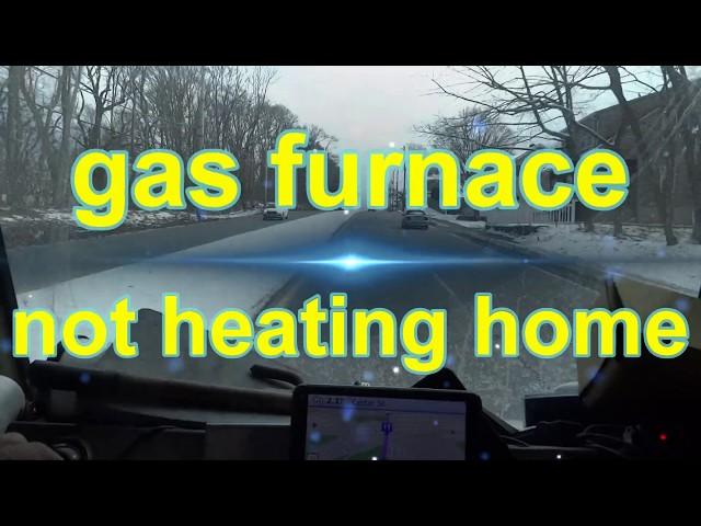 gas furnace not heating