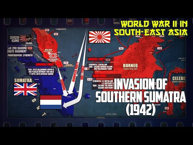 WW2 in South-East Asia | The Invasion of Southern Sumatra (1942)