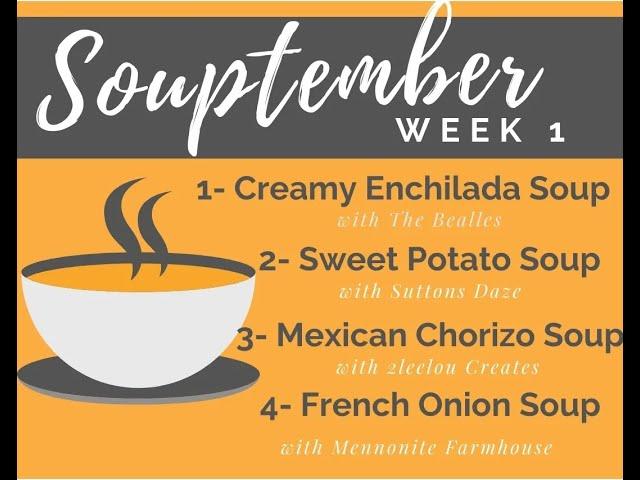 Chorizo Corn Soup - Souptember Collaboration