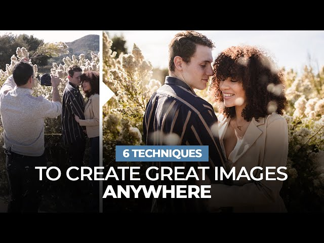 6 SIMPLE Techniques to Create Great Portraits Anywhere w/ Any Camera