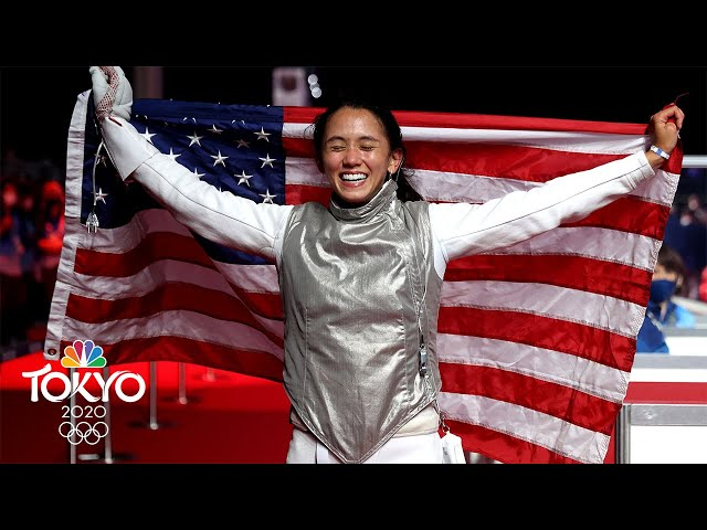 Lee Kiefer delivers historic gold medal after nearly retiring | Tokyo Olympics | NBC Sports