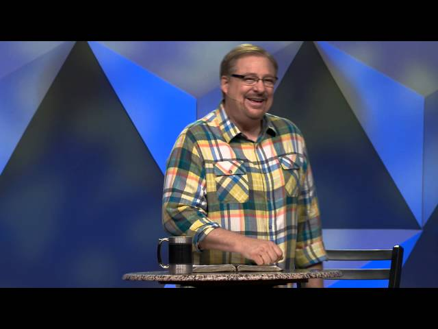 Transformed: Change Your Life By Changing Your Mind with Pastor Rick Warren