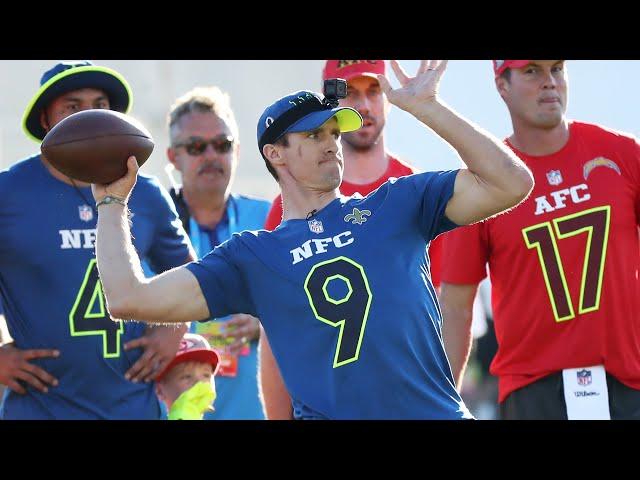 QB Precision Passing: Pro Bowl Skills Showdown | NFL