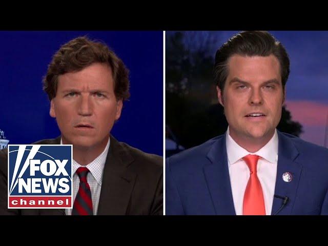 Matt Gaetz responds to sex trafficking allegations on 'Tucker Carlson Tonight'