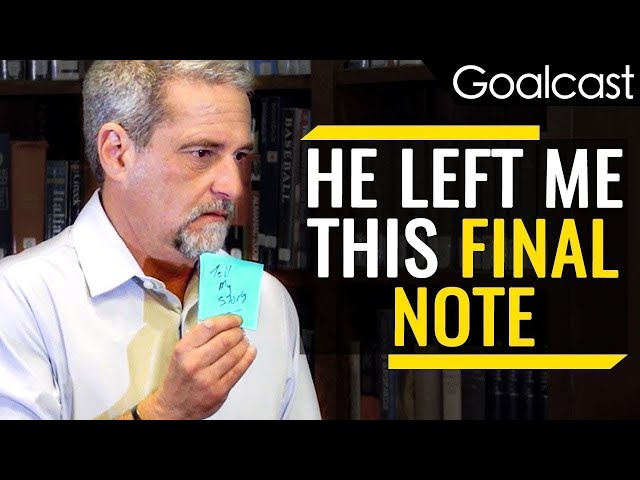 """""""My Son's Suicide Note Will Change Your Life Today"""" 