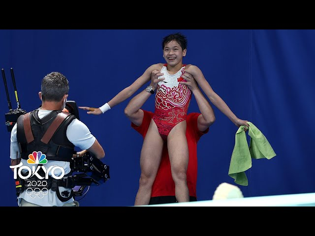 PERFECT SCORE: 14-year-old Quan's all-time diving final wins gold   Tokyo Olympics   NBC Sports