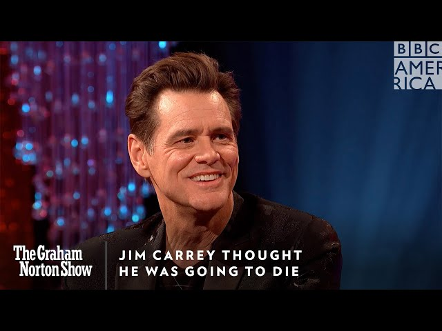 Jim Carrey Thought He Was Going to Die   The Graham Norton Show   Friday @ 11pm   BBC America