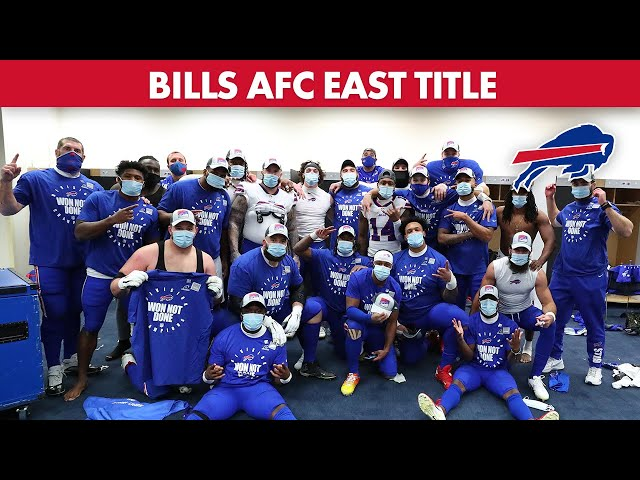 Bills' 1st AFC East Title in 25 Years: 4 Years in the Making