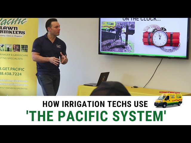 How Irrigation Techs Run Their Day (The Pacific System)