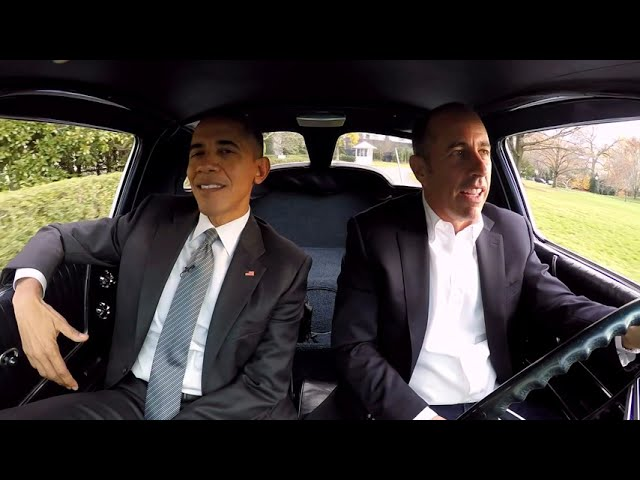 """Comedians in Cars Getting Coffee: """"Just Tell Him You're The President"""" (Season 7, Episode 1)"""