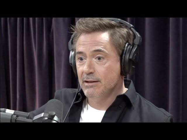 Robert Downey Jr.  on The Importance of Getting Out of Your Own Way