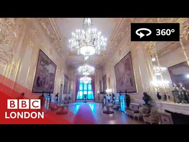 360° Video: Windsor Castle Tour - BBC London
