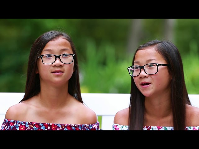 Twin sisters separated at birth talk about their new relationship