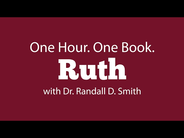 One Hour. One Book: Ruth