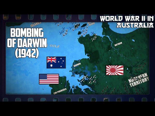 WW2 in Australia   Bombing Of Darwin (1942)