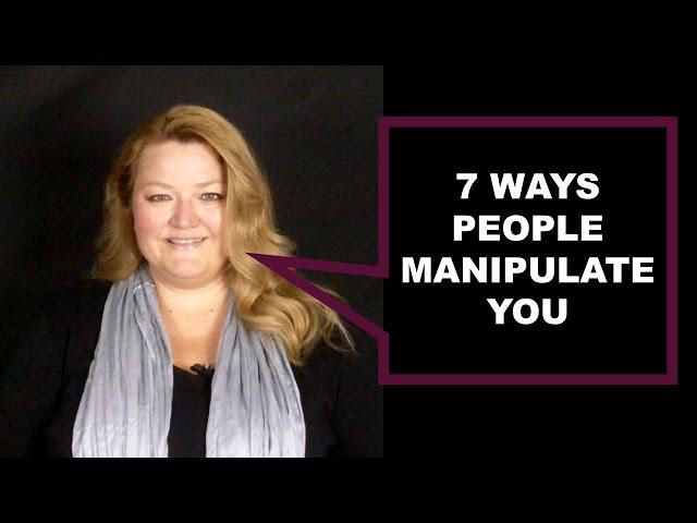 7 Methods of Manipulation