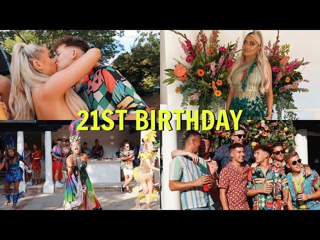 My 21st BIRTHDAY & PARTY!!