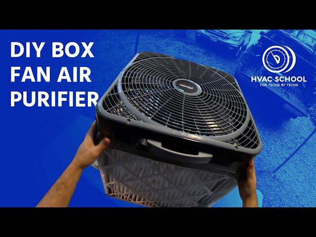 """High Quality DIY Box Fan Air Purifier """"Comparetto Cube"""""""