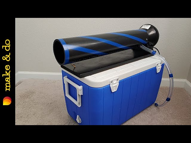 Homemade Portable Air Conditioner DIY - NO HUMIDITY! - Long Lasting Ice! - The Fan Cannon