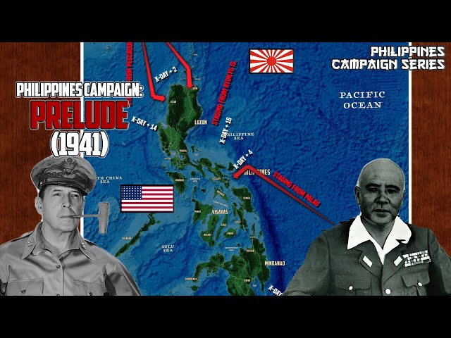 Philippines Campaign | Prelude to The Philippines Campaign (1941)