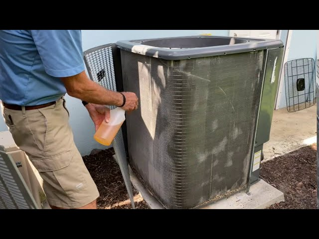 How To Clean Your AC Condenser Coil