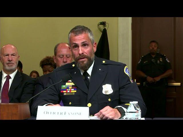 Officer Fanone recounts horrific event of Jan. 6