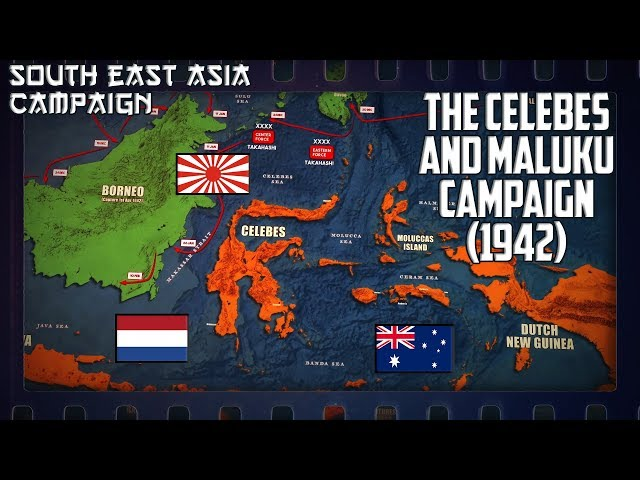 WW2 in South-East Asia | The Celebes (Sulawesi) and Maluku Campaign (1942)