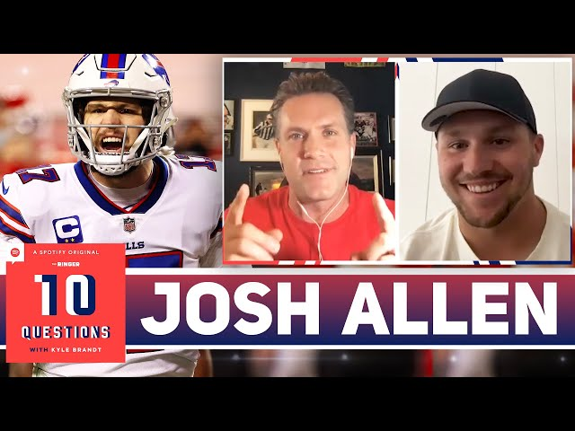 Josh Allen Discusses Wanting a Long-Term Extension and Bills Draft Plans | 10 Questions | The Ringer