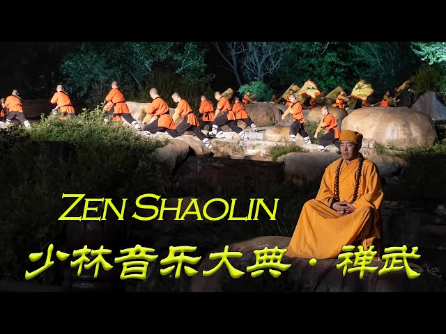 少林音乐大典·禅武 VR180 Shaolin Music Ceremony·Chan Wu