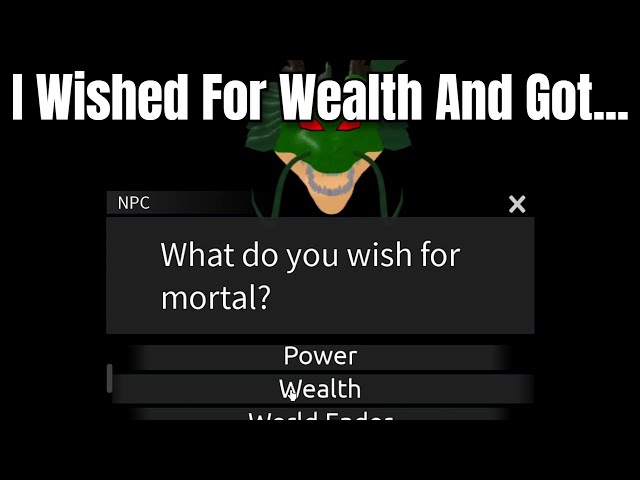 [ AUT ] I Wished For Wealth And Got...