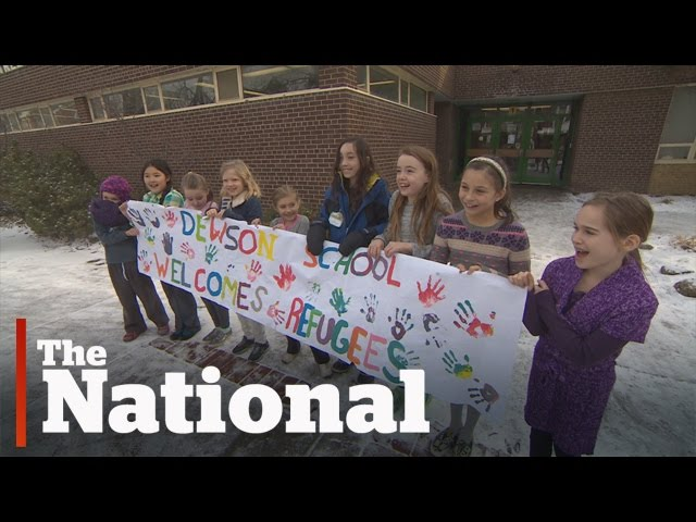 Refugee family's first days in Canada