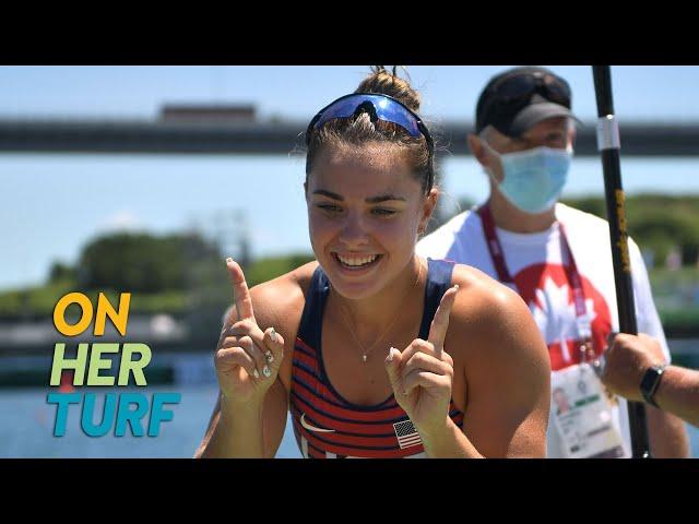 How Nevin Harrison felt when she wrote American history | On Her Turf: Tokyo Olympics | NBC Sports