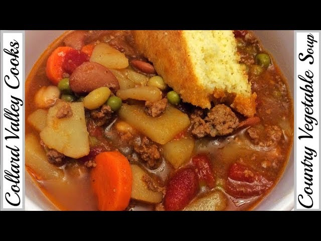 How We Make Vegetable Soup, Best Old Fashioned Southern Recipes