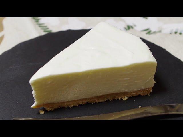 ゼラチン 簡単 レアチーズ なし ケーキ 簡単レアチーズケーキ 雪印メグミルクのお料理レシピ