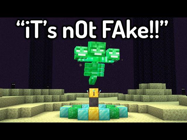 The Most HILARIOUS FAKE Minecraft Speedruns EVER