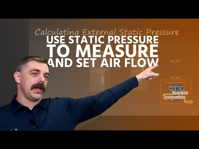 How to use Static Pressure to Measure and Set Air Flow
